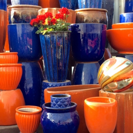 Blue-Orange-pottery
