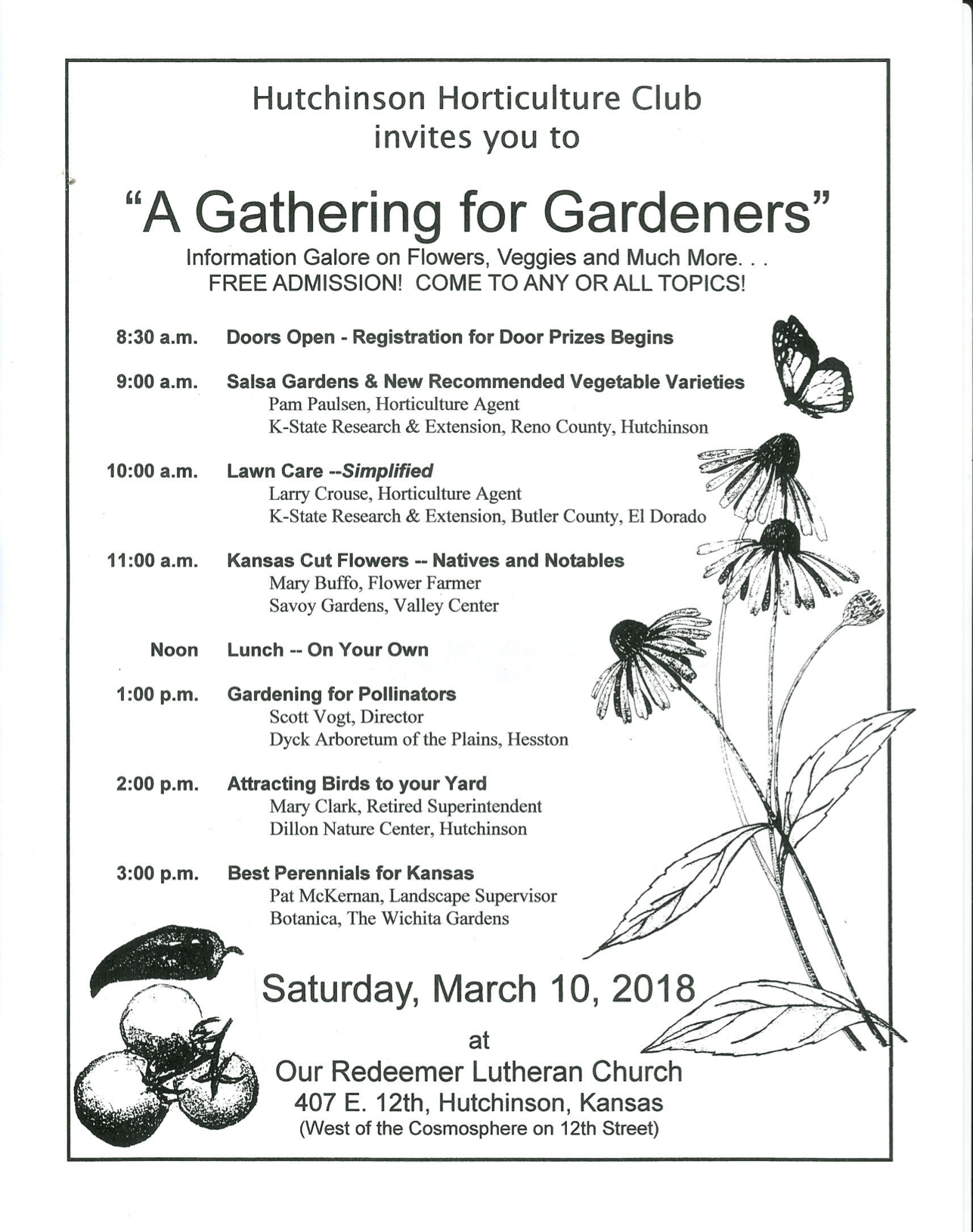 Gathering for Gardeners Event